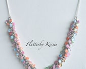 Shaggy Loops Necklace - Summer Dream