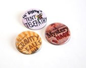 Gravity Falls Pin back Buttons