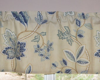 Curtain - Valance  Beautiful Colefax & Fowler Fabric . Hamble Design.  Handmade by SeamsOriginal