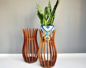 Mid-Century Sculptural Danish Plant Stand