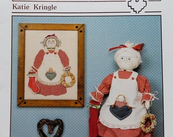 75%OFF Pat Thode Artist Collection KATIE KRINGLE By Heartstrings - Counted Cross Stitch Pattern Chart