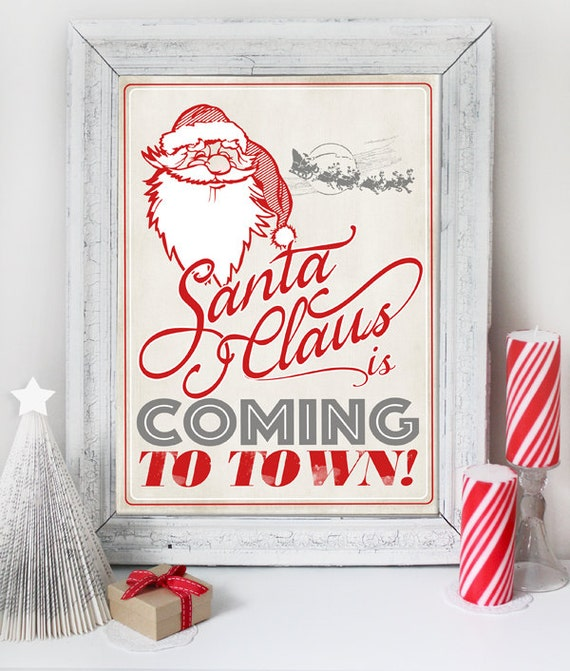 6 Christmas Posters Decoration
