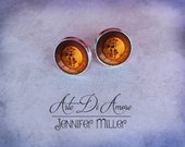 Firefly Serenity Stud or Dangle Earrings or Cufflinks