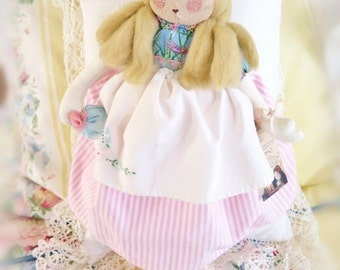 Art Doll Doll MINDY 16 inch OOak Art Doll Soft Sculpture Handmade CharlotteStyle SIGNED