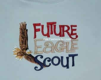 Future Eagle Scout Boy Long Sleeve Shirt
