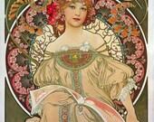 F. Champenois Imprimeur Editeur (1897) by Alphonse Mucha~NEW 8x10 Art Print Reproduction