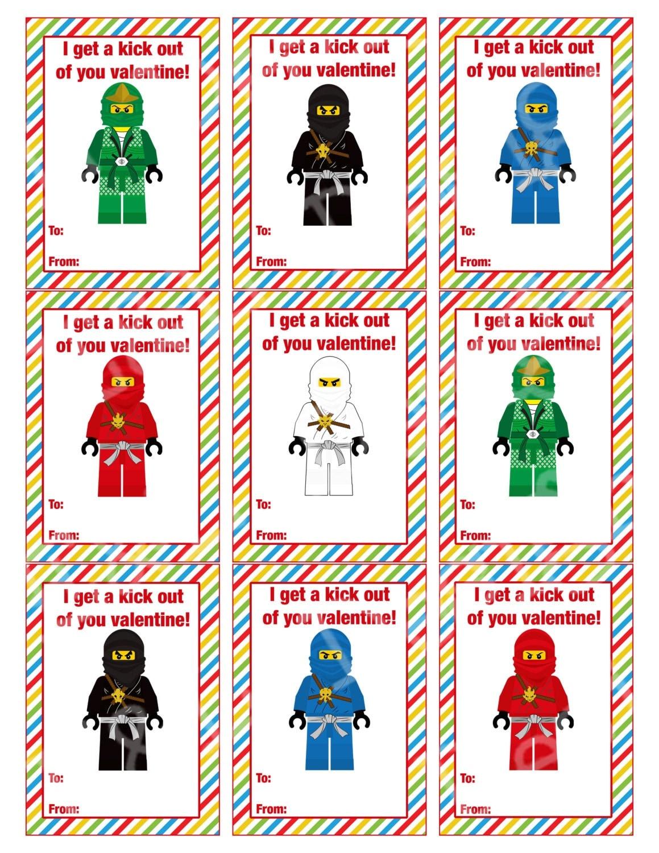Ninjago Valentines Day Cards Valentines Day Cards – Valentines Day Cards Print out