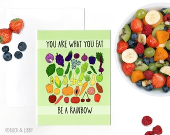 Be A Rainbow card with Envelope blank inside