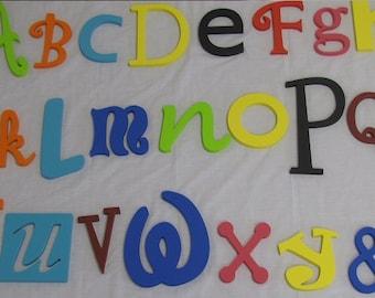 Alphabet wall decor | Etsy