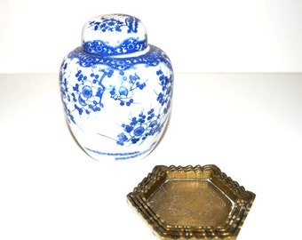 cendrier laiton cendrier empilable cendriers chinoiserie cendriers asiatique tobacciana barware. Black Bedroom Furniture Sets. Home Design Ideas