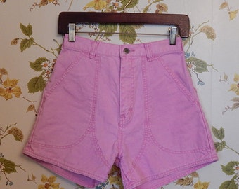 1980's Pale Pink Patagonia High Waisted Shorts