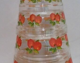 Cherry Nesting Bowls Set of 5
