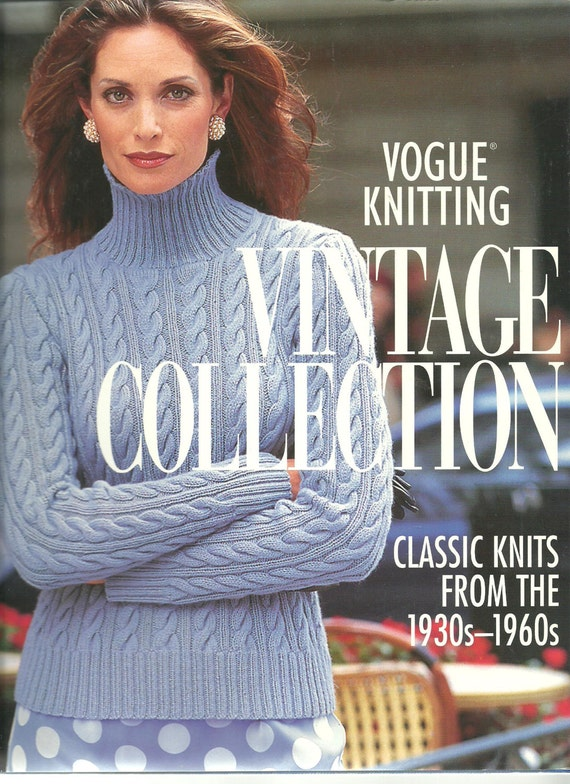 Vogue Knitting Vintage Collection Classic Knits from the 1930s