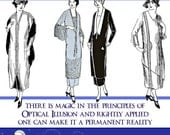 Art Deco Dress DESIGNING To LOOK SLIM Illustrated Book Design Stunning Outfits 187 Pgs Print or Read on Your iPad or Tablet Instant Download