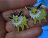Pokemon, Jolteon, Anime, Jolteon Earrings, Pokemon Earrings