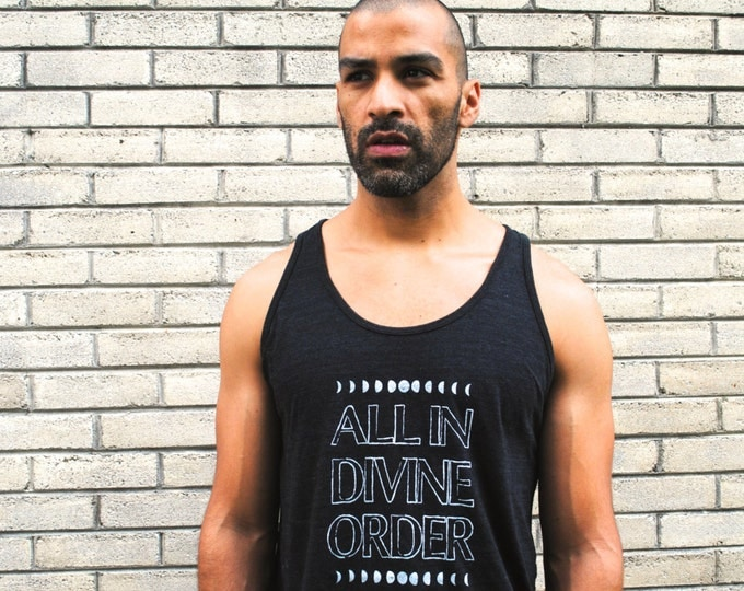 All In DIVINE ORDER Unisex Tank
