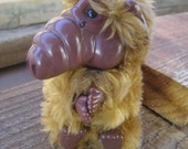 Sale!  5.00 Off Vintage 80's Collectible ALF TV Show Plush Clip On Toy
