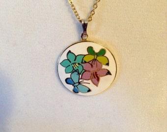 Antique charm necklace