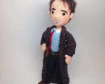 Captain Jack Harkness Doctor Who Amigurumi Crochet Pattern Torchwood