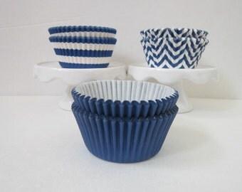 Blue Standard DESIGNER GREASE RESISTANT BakeBright Baking liners (set of 50)