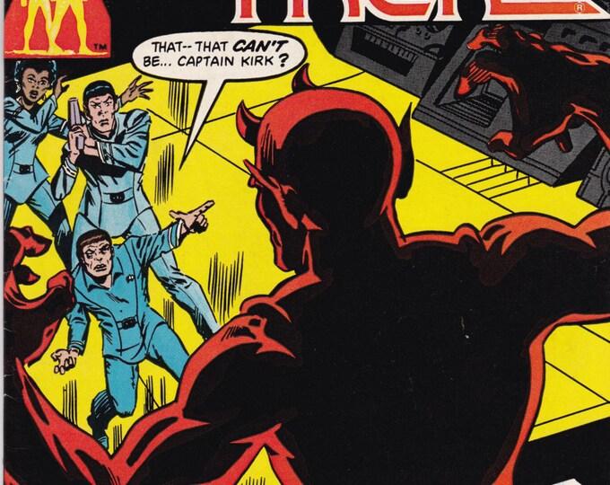 Vintage Star Trek Original Series Comic Book, DC Comics, No 15, August 1981
