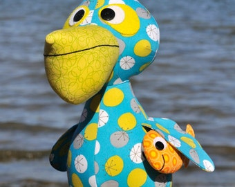 Paddy the Pelican (Toy / Softie) PDF Pattern