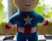 Marvel Captain America Steve Rogers Plushie