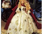 Crochet Collector Costume Volume 72 / 1840 London Peddlar Lady Costume Fashion Doll  Crochet Pattern P-083
