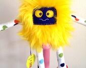 Kawaii Plush Monster Animal Posable, Bendable, Very Soft Cuddly Toy Buddy