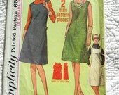Retro 1965 SIMPLICITY Sewing Pattern 6133
