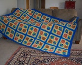 Beach House granny square afghan