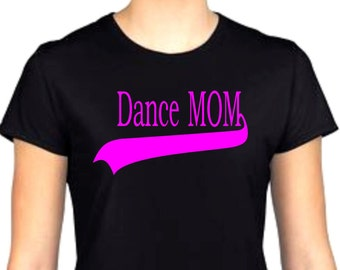 dance mom. glitter top, sparkly top, bling, ladies tshirt, trendy top