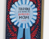 Honorary Mom Mother's Day Card, Stepmom Card, Godmother Card, Aunt Card / No. 236-C