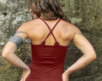 Adjustable Tank Top-Womens clothing-funky yoga wear-yoga shirt-yoga blouse-womens blouse-workout top-workout tank-yoga tank-trendy tops