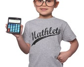 Mathlete T-Shirt Funny Geekery Math Geek Nerd Humor Tee Shirt Tshirt Youth Kids Children S-XL Great Gift Idea
