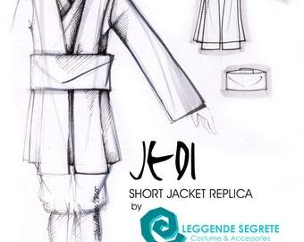 MADE to ORDER Star Wars Obi Wan Kenobi short jedi jacket replica