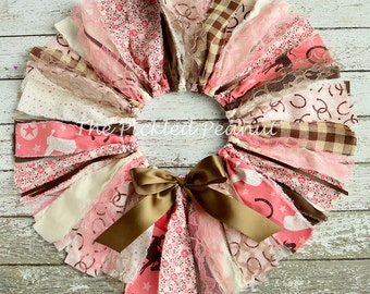 Pink Cowgirl Tutu Pink Cowgirl Skirt Western Tutu Western Skirt Baby Girl Baby Tutu 1st Birthday Girl Outfit Birthday Outfit Fabric Tutu