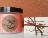 It is Well with my Soul, Bible gift idea, Scripture Jar, Encouraging Christian Gift - Spring Comfort