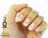 Flamingo Nail Sticker