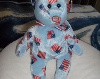 Union Flag Nose Beanie Baby