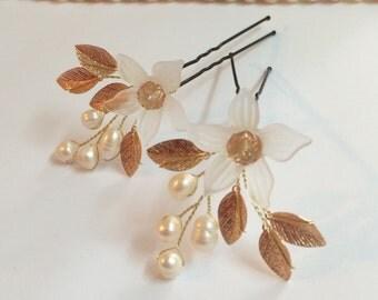 Bridal Hair Pins, Wedding Hair Pins, Pearl Hair Pins for Bride, Hair Pins for Wedding, Hair Accessories Bridal, Hair Pins, Wedding Bridal
