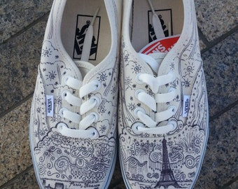 Paris VICIT // Vans Shoes