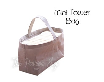 Mini Tower Bag - Solid Color