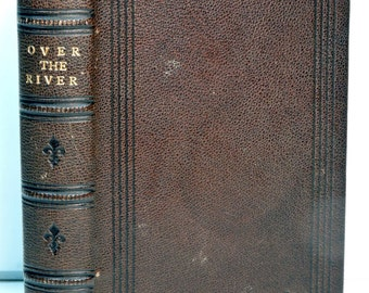 Antique Civil War Reenactment Bereavement Book 1800's Bibliophile