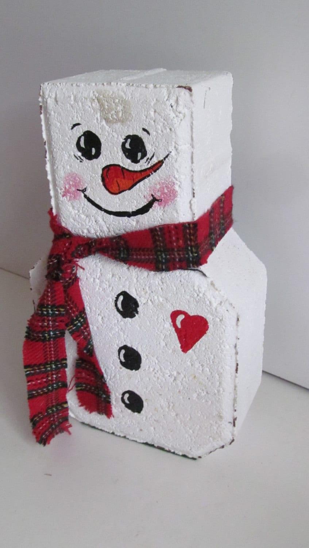 Snowman door stop christmas decorations snowmen christmas for Christmas snowman decorations