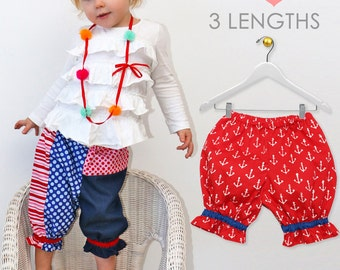 baby bloomer pattern, Baby sewing pattern pdf,  diaper cover pattern pdf,  baby pants pattern, girls pants, pattern babies infant, PATCHWORK