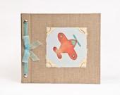 Baby Book - Baby Memory Book - Boy, Airplane, Baby Album - Airplane Baby Memory Book - Hugs and Kisses XO Baby Memory Book