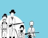 Limited Edition A5 Aqua Guys with Guns