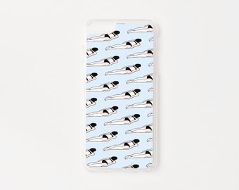 iPhone 6 Plus Case - Swimmers Pattern iPhone 6s Plus Case - Amelia Strong Special Collection