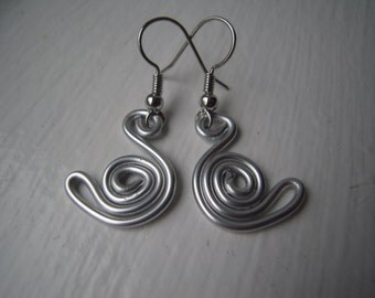 50 % off Aluminium earrings 2